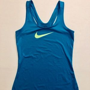 SMALL TURQUOISE NIKE TANK TOP